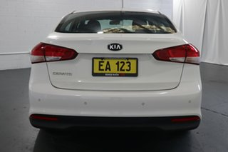 2018 Kia Cerato YD MY18 S White 6 Speed Auto Seq Sportshift Sedan