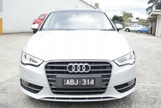 2014 Audi A3 8V Ambition Sportback S Tronic Billet Silver 7 Speed Sports Automatic Dual Clutch.