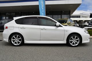 2009 Subaru Impreza G3 MY09 RS AWD Satin White 4 Speed Sports Automatic Hatchback