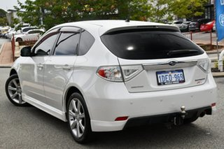 2009 Subaru Impreza G3 MY09 RS AWD Satin White 4 Speed Sports Automatic Hatchback.