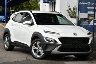 2020 Hyundai Kona 0S.V4 MY21 (FWD) Atlas White Continuous Variable Wagon.
