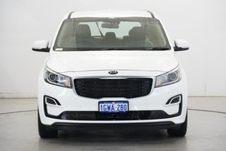 2019 Kia Carnival YP MY19 S White 8 Speed Sports Automatic Wagon.