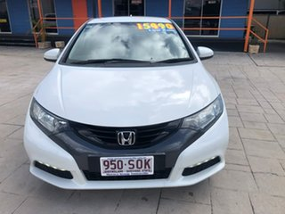 2012 Honda Civic 9th Gen VTi-S White 6 Speed Manual Hatchback.