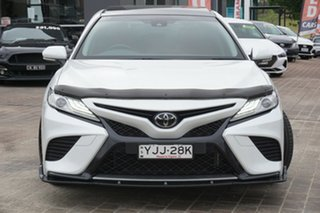 2019 Toyota Camry GSV70R SX White 8 Speed Sports Automatic Sedan.