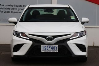2020 Toyota Camry ASV70R Ascent Sport Glacier White 6 Speed Sports Automatic Sedan.
