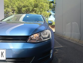 2013 Volkswagen Golf VII MY14 90TSI Comfortline Blue 6 Speed Manual Hatchback