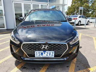 2018 Hyundai i30 PD MY18 SR Black 6 Speed Manual Hatchback