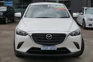 2020 Mazda CX-3 DK2W7A Maxx SKYACTIV-Drive FWD Sport White 6 Speed Sports Automatic Wagon
