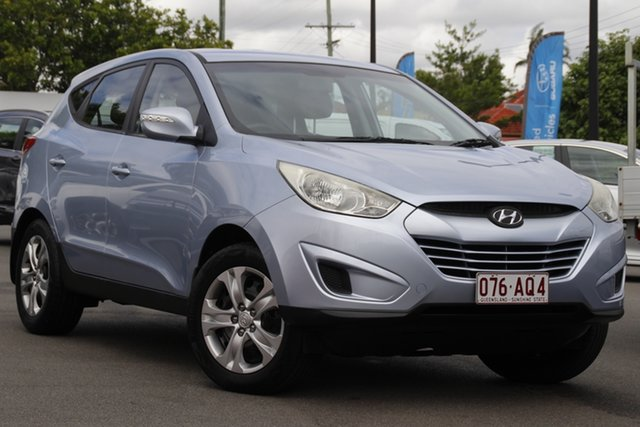 Used Hyundai ix35 LM MY12 Active Mount Gravatt, 2012 Hyundai ix35 LM MY12 Active Blue 5 Speed Manual Wagon