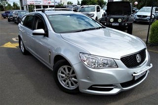 2013 Holden Commodore VF MY14 Evoke Silver 6 Speed Sports Automatic Sedan.