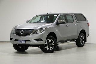 2017 Mazda BT-50 MY17 Update XTR (4x4) Grey 6 Speed Manual Dual Cab Utility.