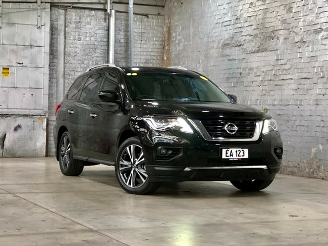 Used Nissan Pathfinder R52 Series II MY17 Ti X-tronic 4WD Mile End South, 2017 Nissan Pathfinder R52 Series II MY17 Ti X-tronic 4WD Black 1 Speed Constant Variable Wagon