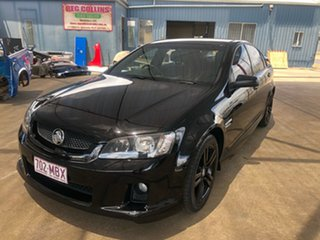 2007 Holden Commodore VE SV6 Black 6 Speed Manual Sedan