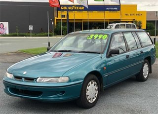 1994 Holden Commodore [Empty] Green Wagon.