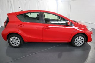 2016 Toyota Prius c NHP10R E-CVT Red 1 Speed Constant Variable Hatchback Hybrid