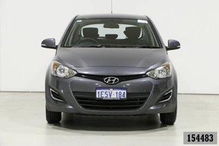 2015 Hyundai i20 PB MY14 Active Grey 6 Speed Manual Hatchback.
