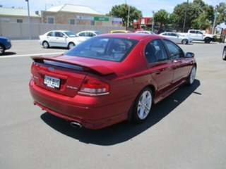 2006 Ford Falcon BF XR6 Burgundy 6 Speed Sports Automatic Sedan
