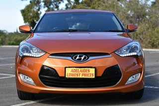 2013 Hyundai Veloster FS2 Coupe Orange 6 Speed Manual Hatchback.