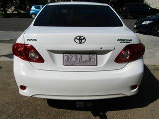 2008 Toyota Corolla ZRE152R Ascent White 6 Speed Manual Sedan.