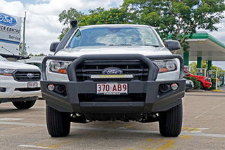 2020 Ford Ranger PX MkIII 2020.75MY XL White 6 Speed Sports Automatic Double Cab Chassis.