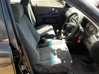 2001 Ford Laser KQ SR2 Black 5 Speed Manual Hatchback