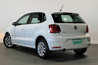 2015 Volkswagen Polo 6R MY16 81TSI Comfortline White 6 Speed Manual Hatchback