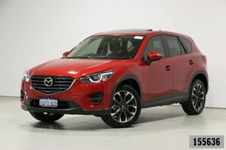 2017 Mazda CX-5 MY17 GT (4x4) Red 6 Speed Automatic Wagon.