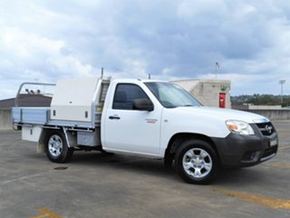 2009 Mazda BT-50 UNY0W4 DX 4x2 White 5 Speed Manual Cab Chassis.
