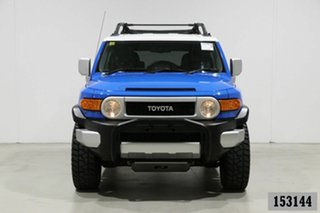 2011 Toyota FJ Cruiser GSJ15R Blue 5 Speed Automatic Wagon.