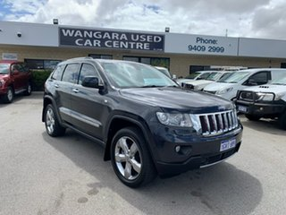 2013 Jeep Grand Cherokee WK MY13 Overland (4x4) Par Max Steel 5 Speed Automatic Wagon.