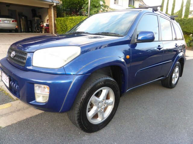 Used Toyota RAV4 ACA21R Cruiser (4x4) Southport, 2000 Toyota RAV4 ACA21R Cruiser (4x4) Blue 4 Speed Automatic 4x4 Wagon