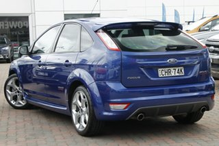 2010 Ford Focus LV XR5 Turbo Blue 6 Speed Manual Hatchback.