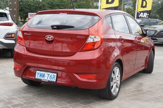 2017 Hyundai Accent RB5 MY17 Sport Pulse Red 6 Speed Sports Automatic Hatchback