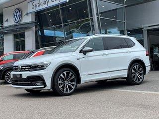 2020 Volkswagen Tiguan 5N MY20 140TDI Highline DSG 4MOTION Allspace White 7 Speed.