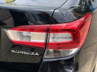 2017 Subaru Impreza G5 MY17 2.0i-S CVT AWD Black 7 Speed Constant Variable Sedan