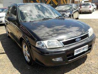 2001 Ford Laser KQ SR2 Black 5 Speed Manual Hatchback.