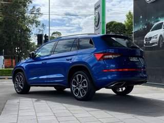 2020 Skoda Kodiaq NS MY21 RS DSG Blue 7 Speed Sports Automatic Dual Clutch Wagon