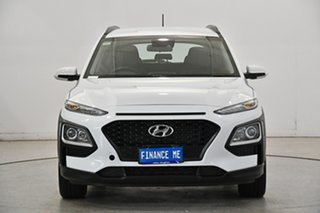 2019 Hyundai Kona OS.2 MY19 Go 2WD White 6 Speed Sports Automatic Wagon.