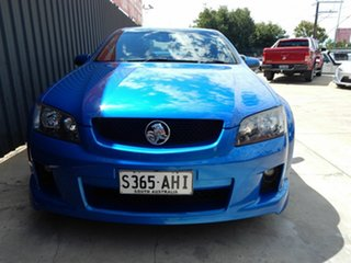 2010 Holden Commodore VE MY10 SV6 Blue 6 Speed Sports Automatic Sedan.