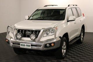 2013 Toyota Landcruiser Prado KDJ150R GXL Glacier 5 speed Automatic Wagon.