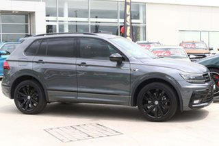 2018 Volkswagen Tiguan 5N MY19 Wolfsburg Edition DSG 4MOTION Indium Grey 7 Speed.