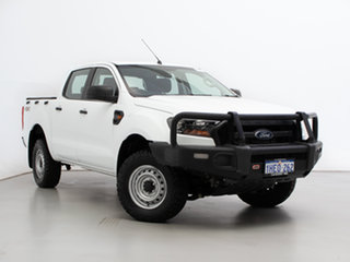 2017 Ford Ranger PX MkII MY17 XL 3.2 (4x4) White 6 Speed Manual Crew Cab Chassis.