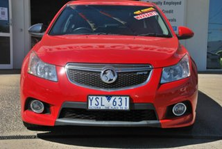 2011 Holden Cruze JH SRi V Red 6 Speed Automatic Sedan