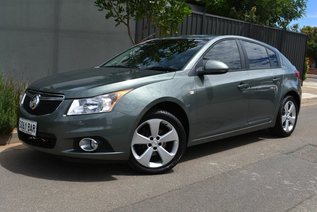 Used Holden Cruze JH Series II MY13 Equipe Brighton, 2013 Holden Cruze JH Series II MY13 Equipe Grey 6 Speed Sports Automatic Hatchback