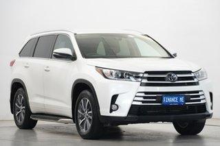 2019 Toyota Kluger GSU55R GXL AWD White 8 Speed Sports Automatic Wagon