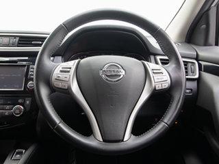 2016 Nissan Qashqai J11 TI Silver Continuous Variable Wagon