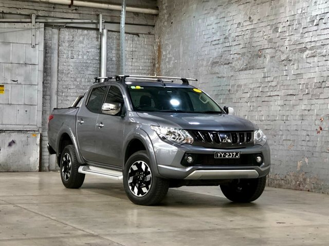 Used Mitsubishi Triton MQ MY18 Exceed Double Cab Mile End South, 2018 Mitsubishi Triton MQ MY18 Exceed Double Cab Grey 5 Speed Sports Automatic Utility