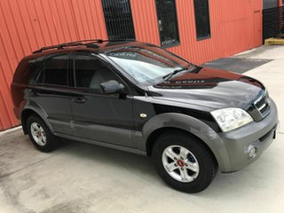 2005 Kia Sorento BL MY05 EX Black 5 Speed Sports Automatic Wagon