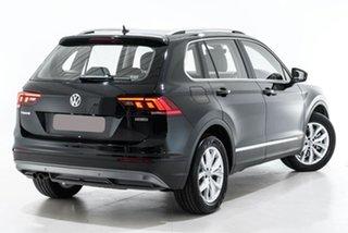2020 Volkswagen Tiguan 5N MY20 132TSI DSG 4MOTION Comfortline Black 7 Speed.