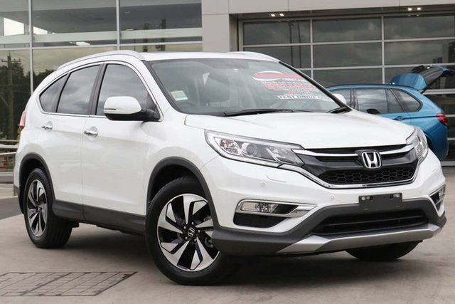 Used Honda CR-V RM Series II MY17 VTi-L 4WD Liverpool, 2017 Honda CR-V RM Series II MY17 VTi-L 4WD White 5 Speed Sports Automatic Wagon